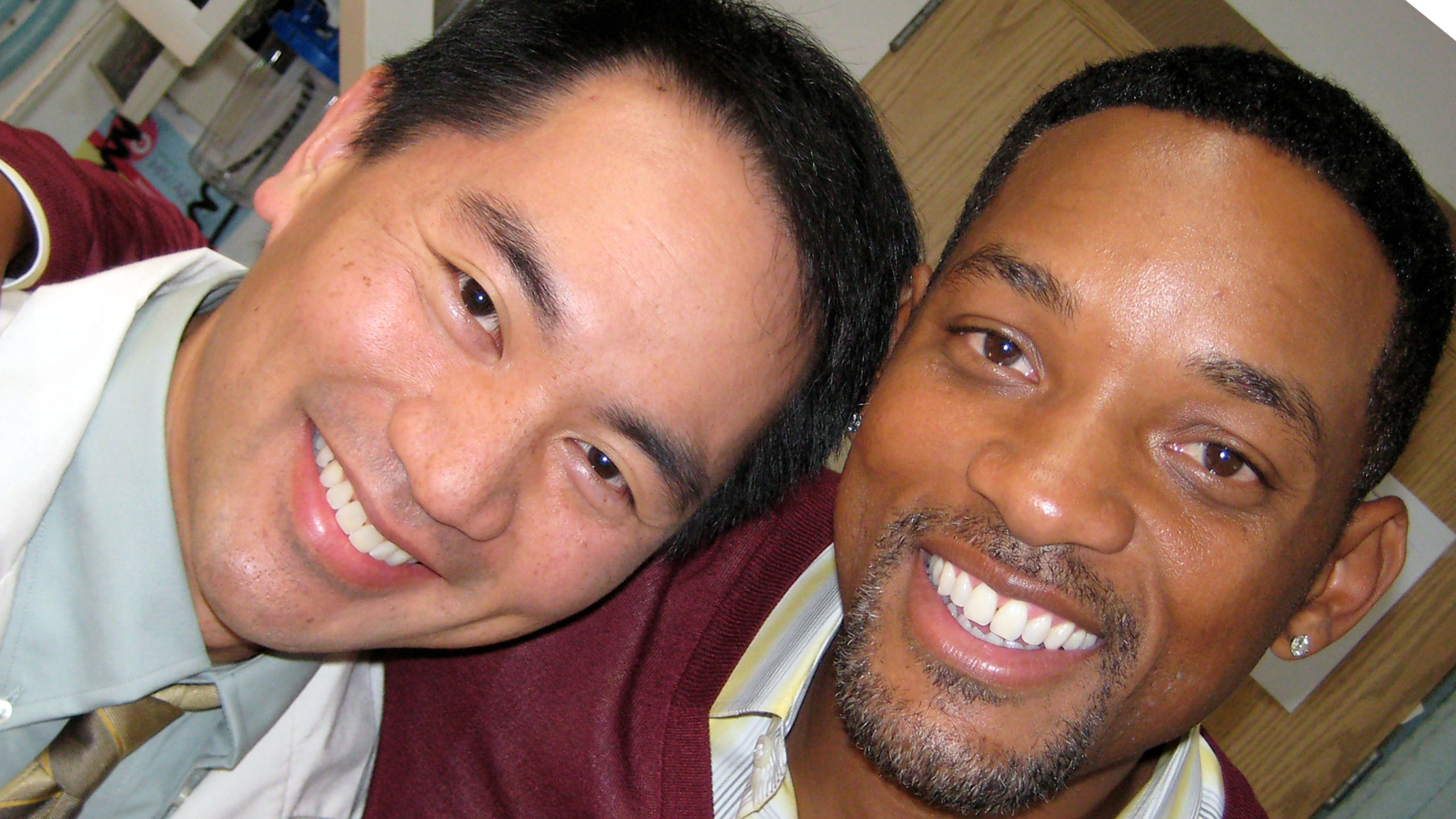 Keisuke with Will Smith