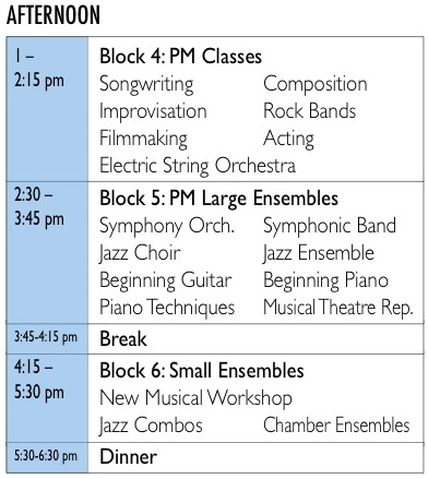 MiPAC Daily Sched 2-PM